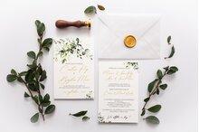 invitatie de nunta in aer liber