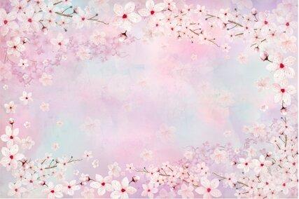 fundal foto pastel cu flori de primavara