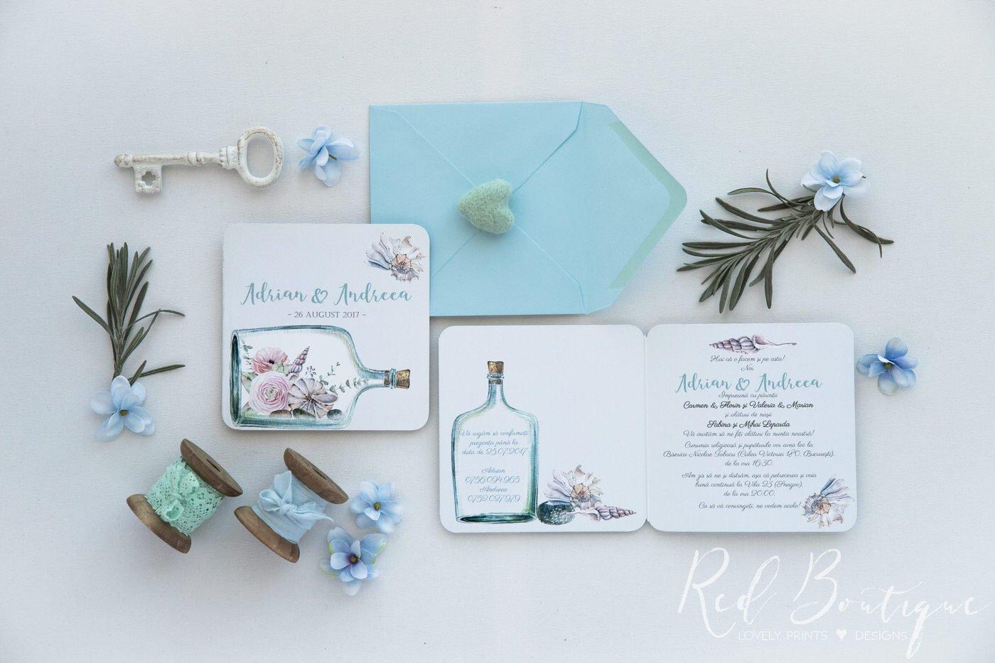 Invitatie De Nunta Sea Love
